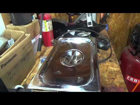 Ultrasonic Cleaner - first use on a carburetor