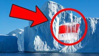 إليك 10 أشياء غريبة تم اكتشافها في جليد أنتاركتيكا