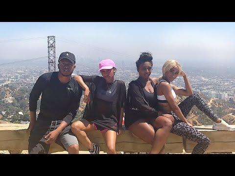 Vlog  WE LOVE LA! Bae's Birthday & Las Vegas  Nae and Nea