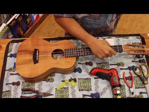 Let's Change Strings Part 2 (Pin Bridge)