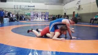 Gary Rooney SBGi Cavan Junior freestyle wrestling