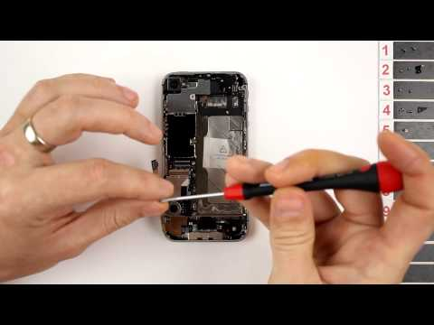 iPhone 4S Charging Dock Replacement Disassembly and Reassembly - CRAZYPHONES