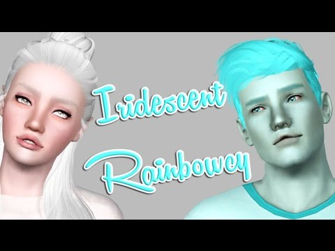 Let's Play: The sims 3 Iridescent Rainbowcy!