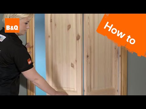 How to fit an internal bi-fold door