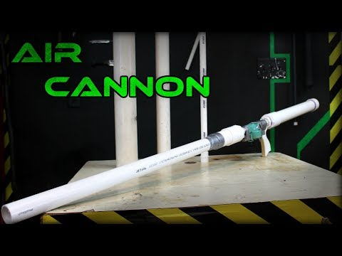 PVC Air Cannon | Part 1: Construction