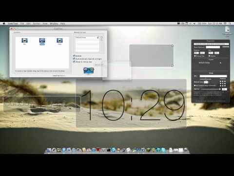 How to: Sands of Time Desktop (Geektool) + (Lion & Snow Leopard) |1080p HD|