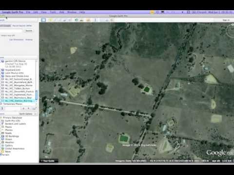 GoogleEarth Boundary Plan Creation