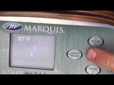 How to Raise the Temperature on your Hot Tub to 106 Degrees in 3 seconds