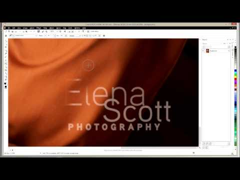 Corel Draw Tutorials for CorelDraw Photo Paint Clone Tool Editing Photo