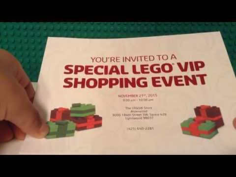 I Have Been Invited To The Lego Vip Exclusive Event 2015