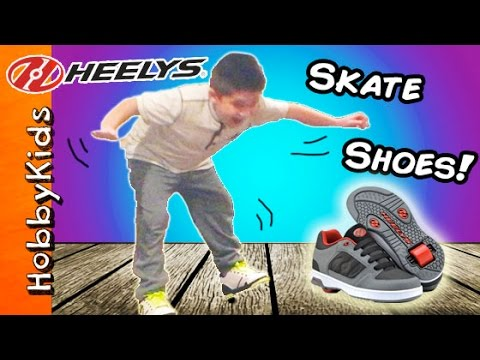 Heelys SKATE Shoes Review with HobbyKids