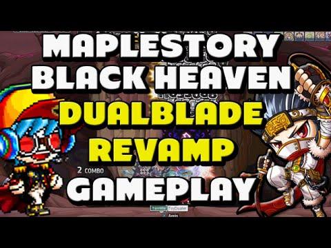 Maplestory Dual Blade Revamp Gameplay   Black Heaven Part 1