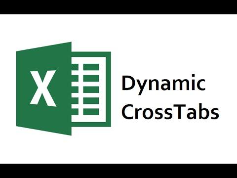 Dynamic Crosstabs in Excel