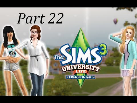 Lets Play The Sims 3 University Life (Part 22) -  Plantsim baby