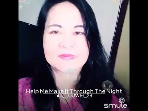 Download Help me make it through the night 😘 cover by Louwela 😘 MP3 Gratis
