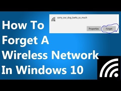 How To Reset Wireless Settings In Windows 10
