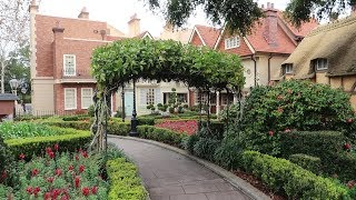 Adventures Around The World Showcase At Disney! | Taking A Closer Look At The UK Pavilion