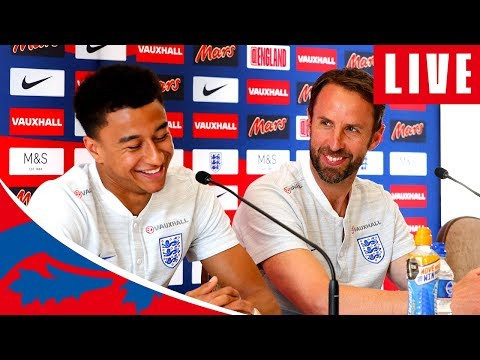 LIVE at England's 2018 FIFA World Cup media day | World Cup…