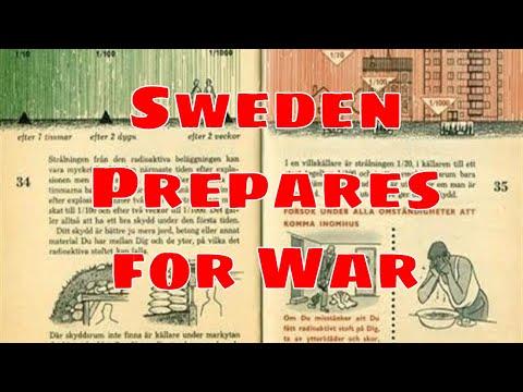 PREPARE FOR WAR: Sweden Distributes Pamphlet preparing citizens!?