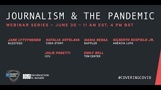 Webinar 43: Journalism and the Pandemic: The Disinfodemic