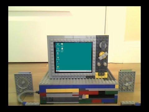 [READ DESCRIPTION!] Lego Computer Booting Windows 95 Brick Edition