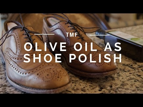 Shine Your Shoes With Olive Oil