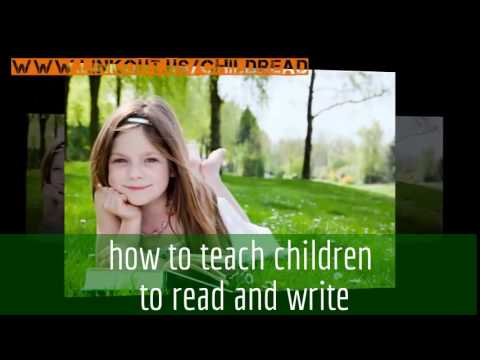 how to teach children to read and write