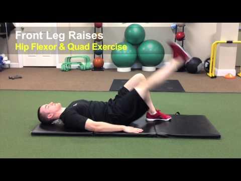 FRONT LEG RAISES