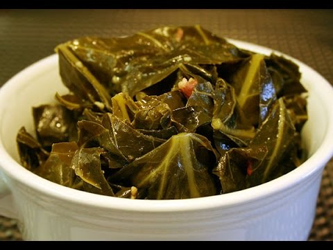 Southern Collard Greens with Bacon Recipe