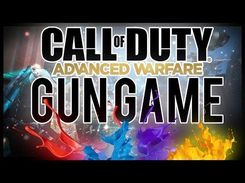 Advanced Warfare GUN GAME #3 With Junior!!