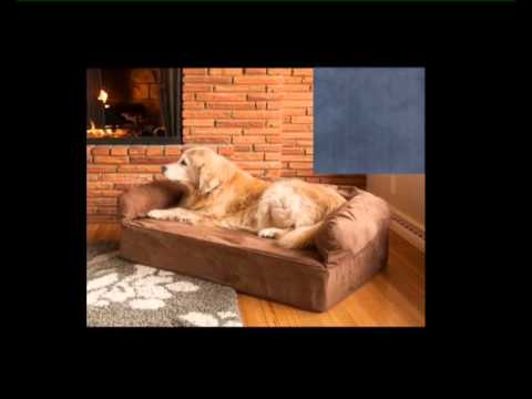Snoozer SN 69518 Luxury Sofa Pet Bed Navy Extra Large Memory Foam