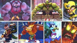 Crash Bandicoot N. Sane Trilogy - All Bosses