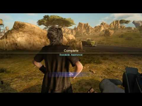 Final Fantasy XV Chapter 2 Sidequests