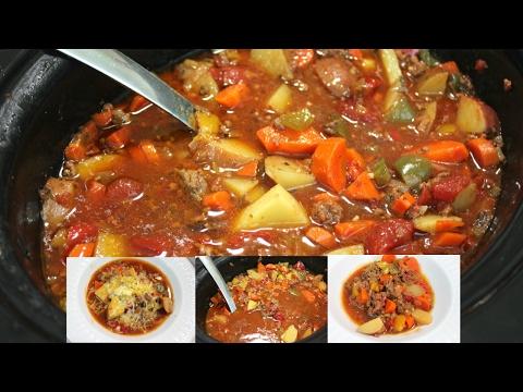 Slow Cooker Hamburger Stew: Easy Crock Pot Ground Beef Recipe
