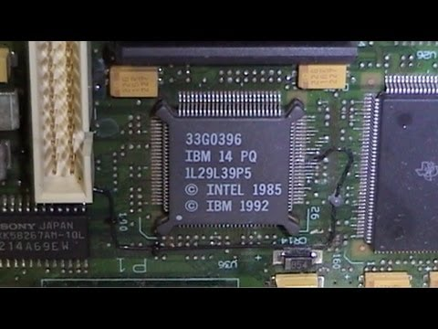 Recycling Rescue: IBM PS/2 Model 57 486 SLC2 Overview