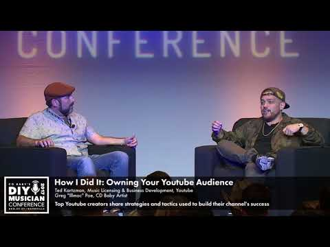 How I Did It: Owning Your YouTube Audience - CD Baby DIY Musician Conference 17
