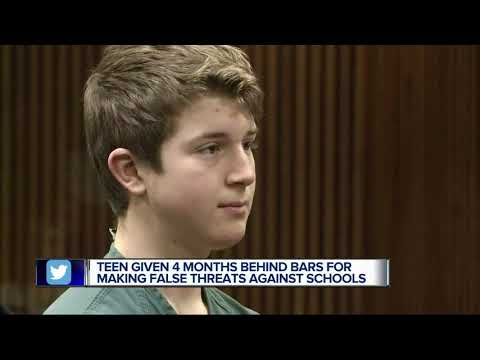 Teen who made threats sentenced to 3 months