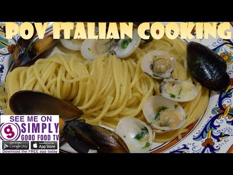 Creamy Pasta with Mussels & Clam: POV Italian Cooking Episode 60