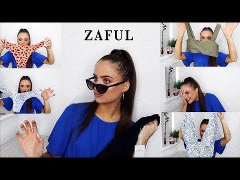 HUGE ZAFUL SWIMWEAR HAUL UNDER £20- WORTH IT?? | Adina May