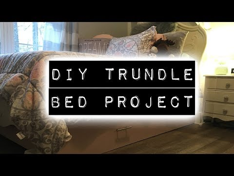 DIY Trundle Bed Project   DIY & Home Improvement Podcast