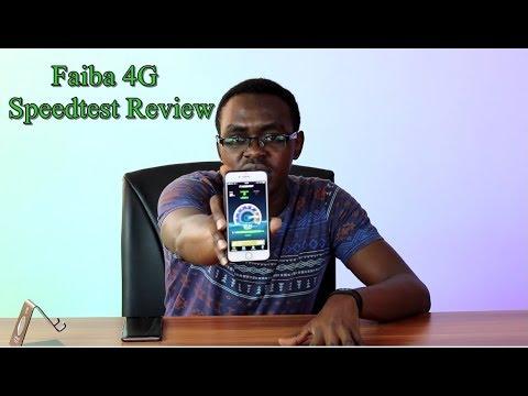 Faiba 4G Speedtest Review