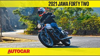 2021 Jawa Forty Two review - What's new on the 'new' Jawa Forty Two? | First Ride | Autocar India