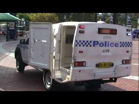 NSW Police Paddy Wagon