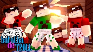 Minecraft: MIKE REVERSO! (Batalha de Troll)