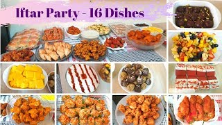 Iftar Party at home - 16 Dishes - Sliders - Red Velvet Cookies - Gulaab Jaman -  Spicy Buffalo Wings