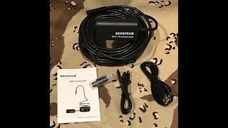 Depstech Wireless Endoscope, WiFi Borescope Inspection Camera 2.0 Megapixels HD