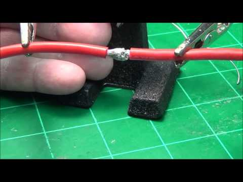 How to solder Two Large Wires Together