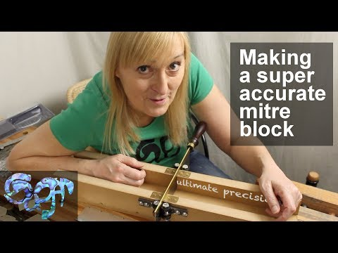 Making a super accurate mitre block