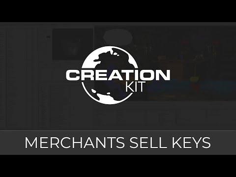 Creation Kit Tutorial (Merchants Sell Keys)