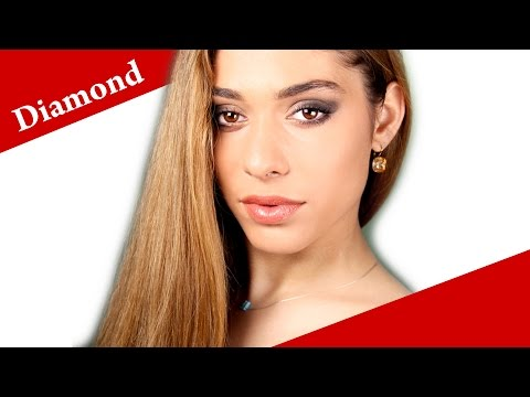Contouring a DIAMOND face shape - How to apply makeup on diamond face video tutorial